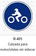 Obligacion - Calzada motocicletas